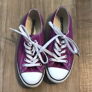 Converse All Stars low tops - Magenta - W6